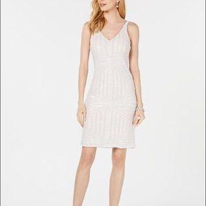 Nightway Petite Sequinned Sheath Dress